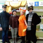 ..театральная сказка Сказка в гости к нам пришла по творчеству Бианки Лесной колобок - колючий бок